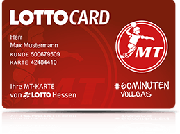 LOTTO Hessen Fancard MT Melsungen