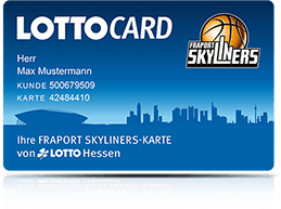 LOTTO Hessen Fancard FRAPORT FRAPORT